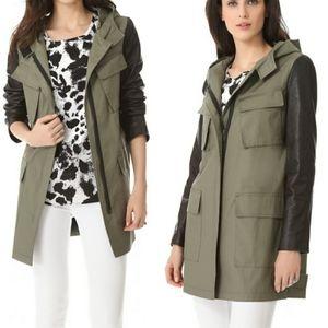 DKNY Hooded Utility Jacket